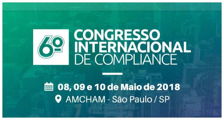 6º Fórum Internacional de Compliance acontece entre os dias 8 e 10 de maio, em São Paulo