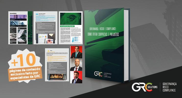 """GRC Solutions lança e-book gratuito: """"Governança, Risco e Compliance: como evitar prejuízos"""""""